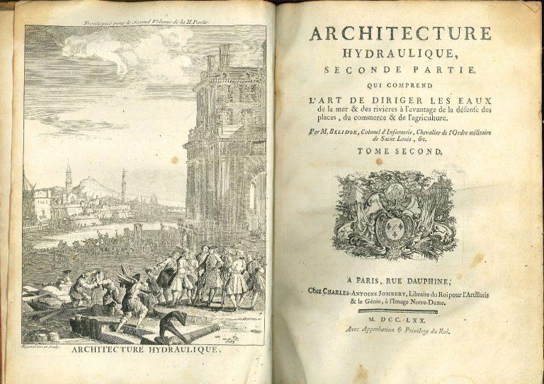 Belidor B.F., Architecture hydraulique, 1770