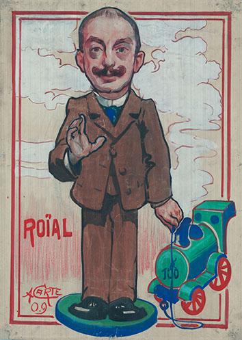 """Charles Dausias, alias Roïal est un des fondateurs de la gazette patoisante """"L'Ropïeur"""". Il a écrit de nombreuses chansons et pièces de théâtre. ©UMONS-BC"""