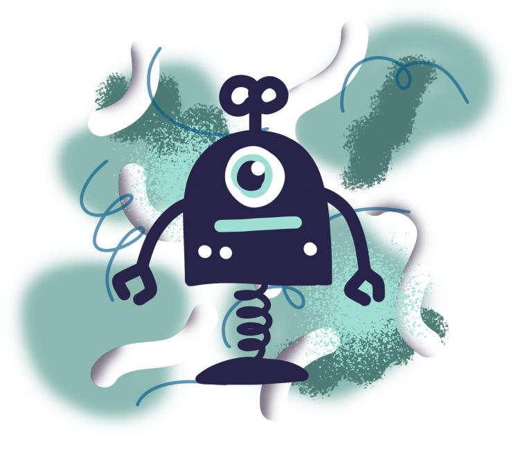 Les robots artistes !
